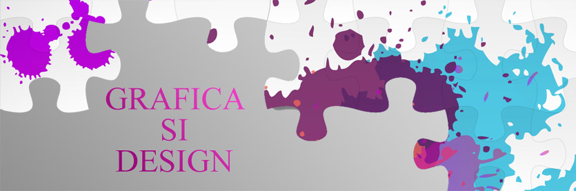 banner colorat cu design
